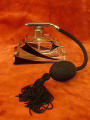 art deco atomizer