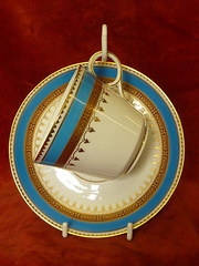 copeland cabinet cup & saucer