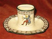 royal doulton match holder and