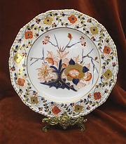 crown derby plate
