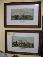 pair of humorous horse prints