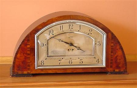 Art Deco Smiths-syncro electric Mantle Clock
