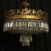 French_Gilded_6_Light_Antique__
