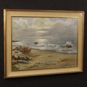 Italian_Seascape_Signed_Painti_
